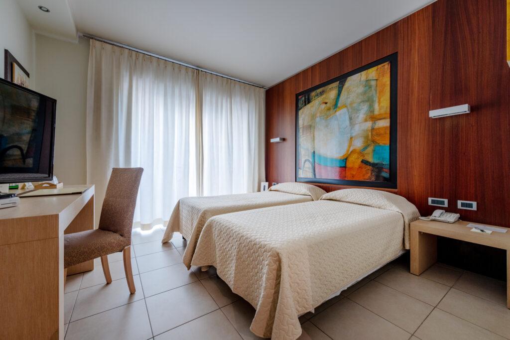 Camera doppia con letti singoli